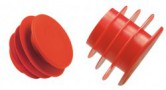 Ribbed Pipe-End Plug