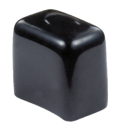Dip moulded ferrules for square and rectangular profiles