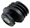 Adjustable feet for oval tubes with slip stopper (PROA)