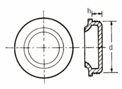 Parallel plug with edge (Img 1)